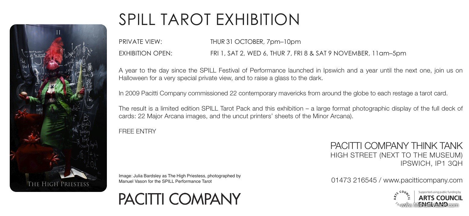 Tarot Exhibition Eflyer