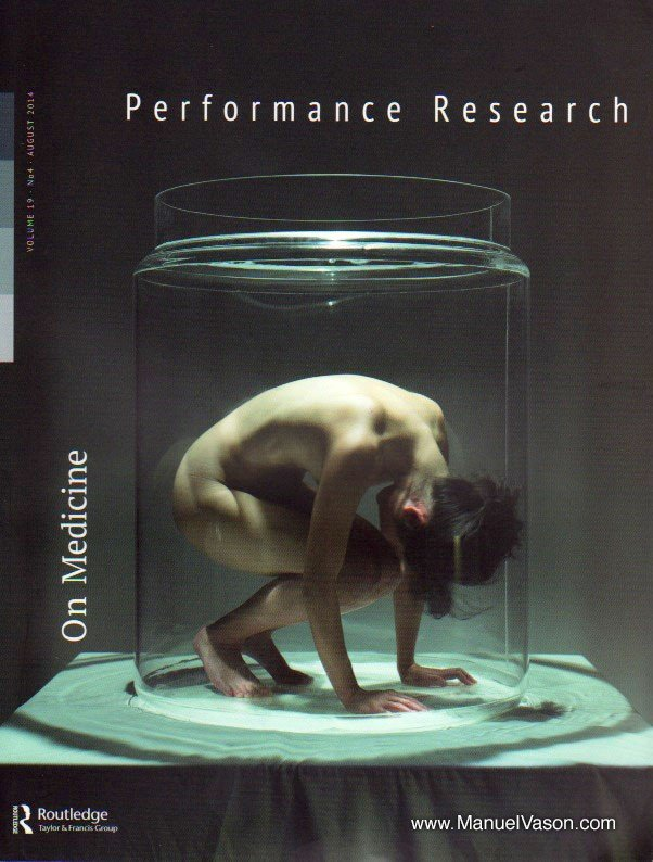 Performance Research - On medicine